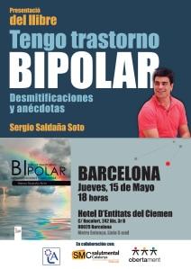 15.05.14 PRESENTACIÓN en BARCELONA Tengo trastorno bipolar